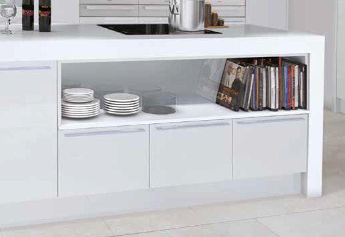 Menet in White Gloss 2
