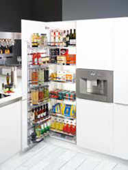 Tandem Pull-Out Larder
